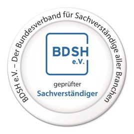 BDSH e.V., Bundesverband Sachverständige, zertifizierter Sachverständiger